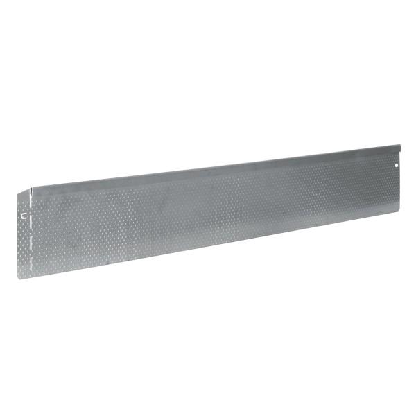 bellissa Rasenkante Metall Noppenstruktur 118x13 cm, Nutzlänge 115 cm