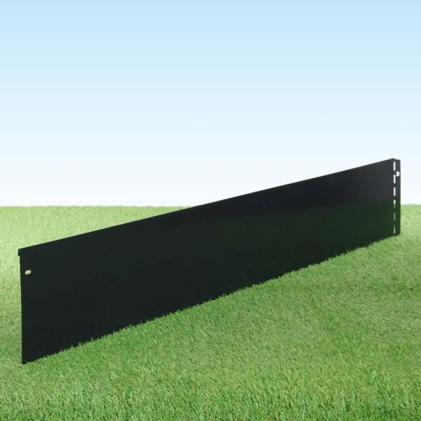 GartenAZ Metall Rasenkante, anthrazit 103x20 cm, Nutzlänge 100 cm