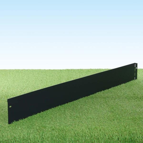 GartenAZ Metall Rasenkante, anthrazit 103x13 cm, Nutzlänge 100 cm
