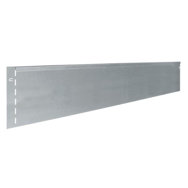 bellissa Rasenkante Metall verzinkt 118x19,5 cm, Nutzlänge 115 cm