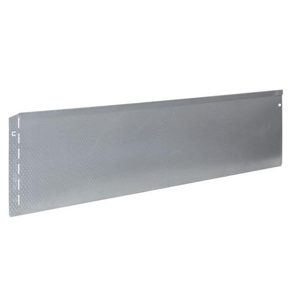 bellissa Rasenkante Metall Noppenstruktur 118x20 cm, Nutzlänge 115 cm