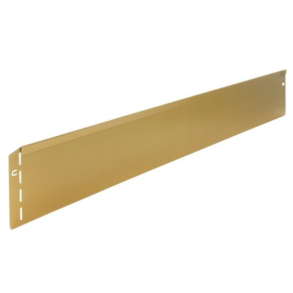 bellissa Rasenkante Metall, edeloptik gold B118xH12,5 cm, Nutzlänge 115 cm