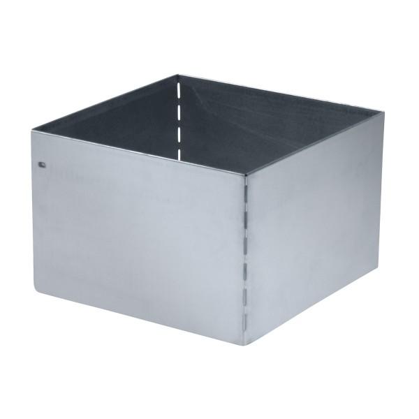 bellissa Rasenkante Square verzinkt, quadratisch 30x30 cm, H20 cm