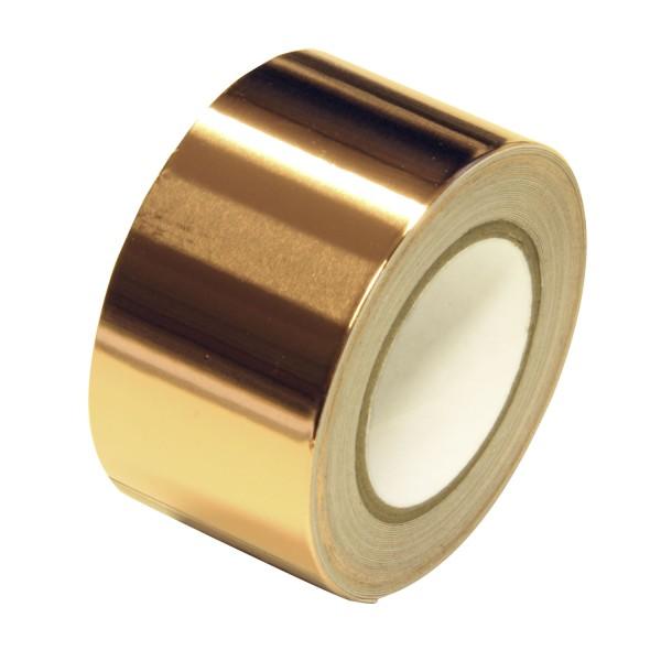 bellissa Schneckenband Kupfer selbstklebend 500x3 cm / Materialdicke Kupfer: 35 µm