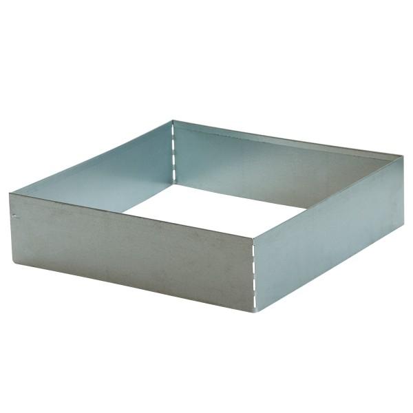 bellissa Rasenkante Square verzinkt, quadratisch 50x50 cm, H13 cm