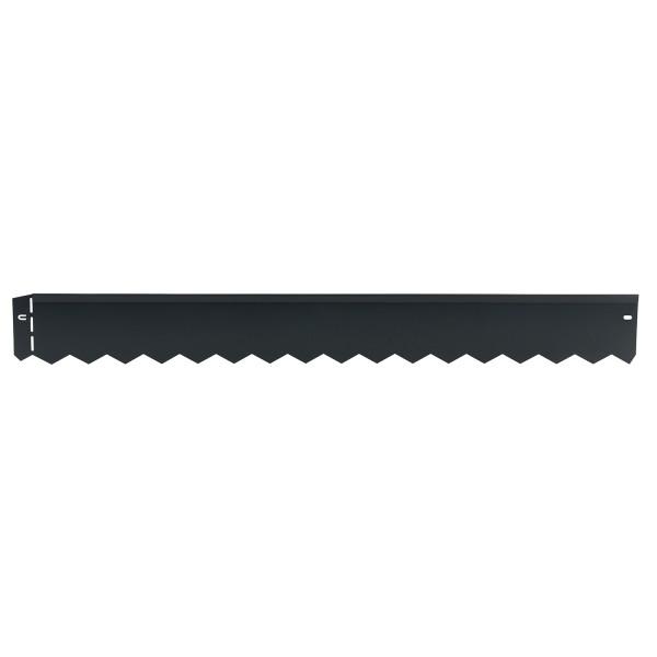 bellissa Rasenkante serra anthrazit pulverbeschichtet 103x12 cm, Nutzlänge 100cm