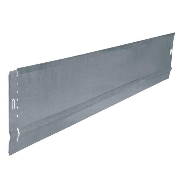 bellissa Rasenkante Basic 2er Set Metall verzinkt 100x10 cm, Nutzlänge 2x 0,97 m
