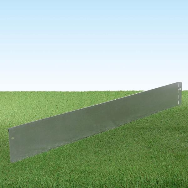 GartenAZ Metall Rasenkante verzinkt 103x13 cm, Nutzlänge 100 cm