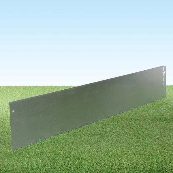 GartenAZ Metall Rasenkante verzinkt 103x20 cm, Nutzlänge 100 cm